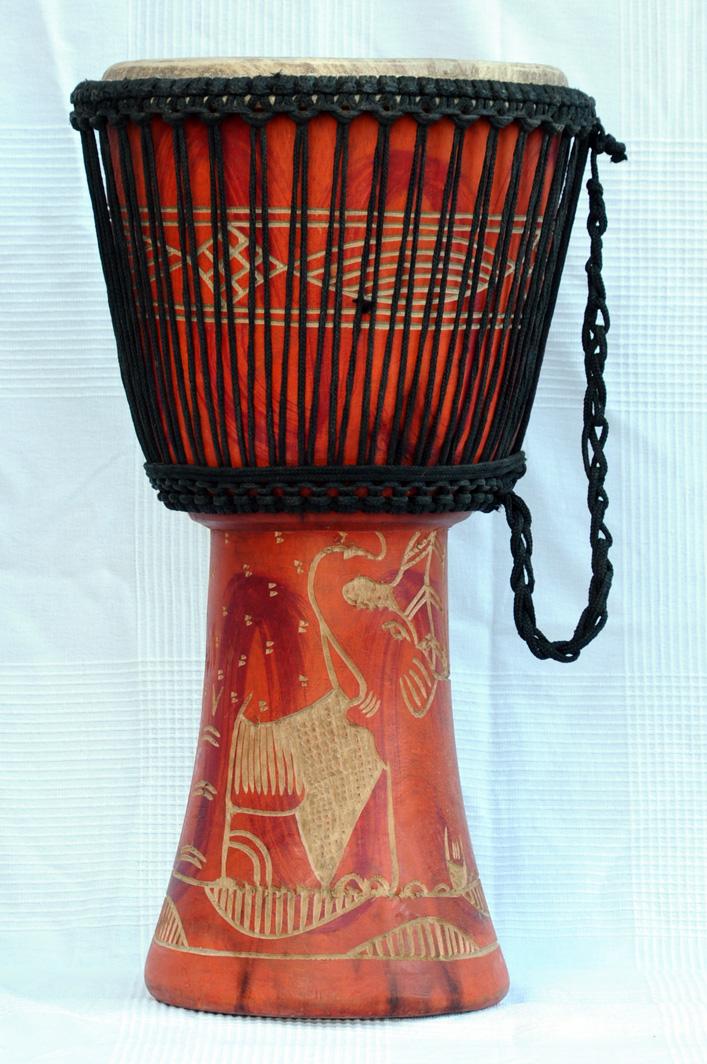 djembe 3742 g nstige djembe kaufen gro e billige djembe trommel aus ghana. Black Bedroom Furniture Sets. Home Design Ideas